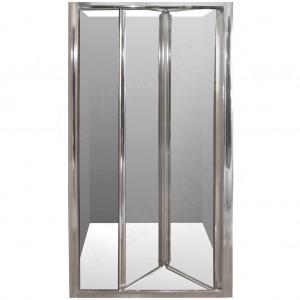 Tuš paravan LEONARDO 90x190cm preklopna vrata