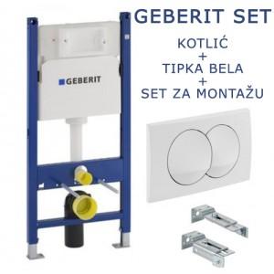 Ugradni vodokotlić Geberit DUOFIX BASIC beli 111.154.11.1