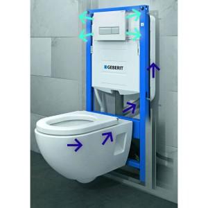 Duofix WC konzola za ventilac Geberit 111.358.00.5