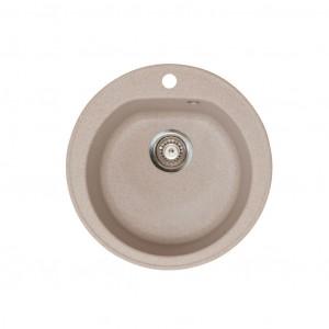 METALAC Granitna sudopera X Granit- Venera E510/180 fi 90 sa sifonom BEIGE 113004