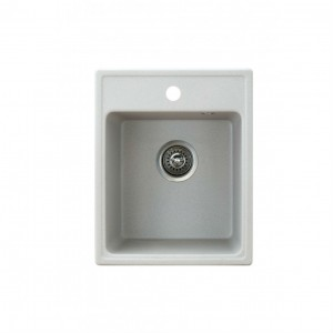 METALAC Granitna sudopera X Granit  Quadro 40 400x500 fi 90 sa sifonom SIVA 152982