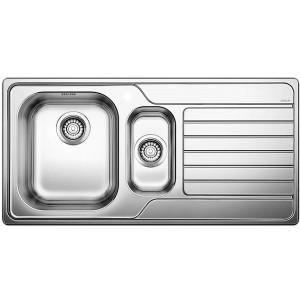 BLANCO DINAS 6S sudopera, 1000x500mm, dorada četkom 523375, poklon Blanco završni sifon