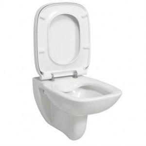WC šolja ROCA DEBBA RIMLESS konzolna