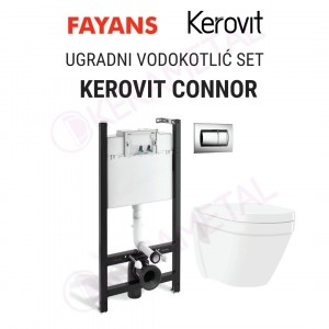 Ugradni vodokotlić SET KEROVIT CONNOR