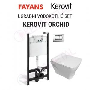 Ugradni vodokotlić SET KEROVIT ORCHID