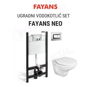 Ugradni vodokotlić SET FAYANS NEO