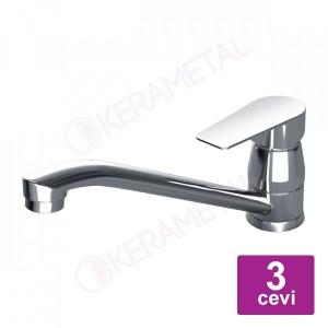 Slavina za sudoperu STALIS LEONE LN-714 sa 3 cevi
