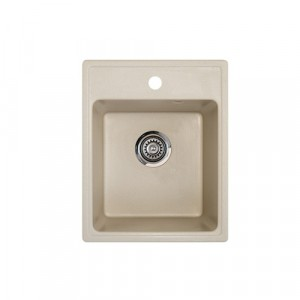 METALAC Granitna sudopera X Granit  Quadro 40 400x500 fi 90 sa sifonom SAMPANJAC 175426
