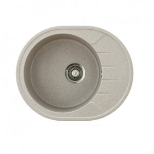 METALAC Granitna sudopera X Granit  Venera M 620x500 fi 90 sa sifonom BEIGE 155197