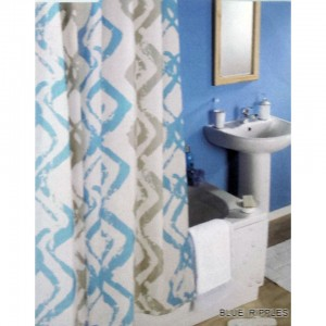 Zavesa za kupatilo CN7339 180x200cm sa alkama